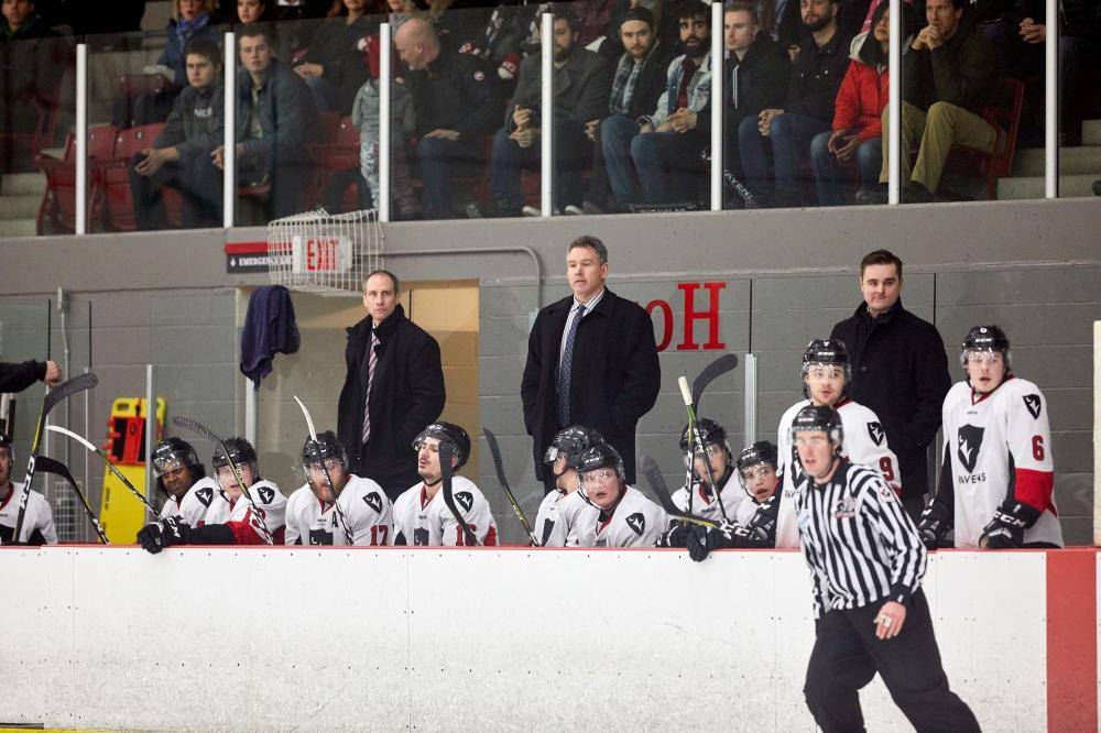 OUA Playoffs Men's Hockey - Ottawa Gee-Gees vs  Carleton Ravens