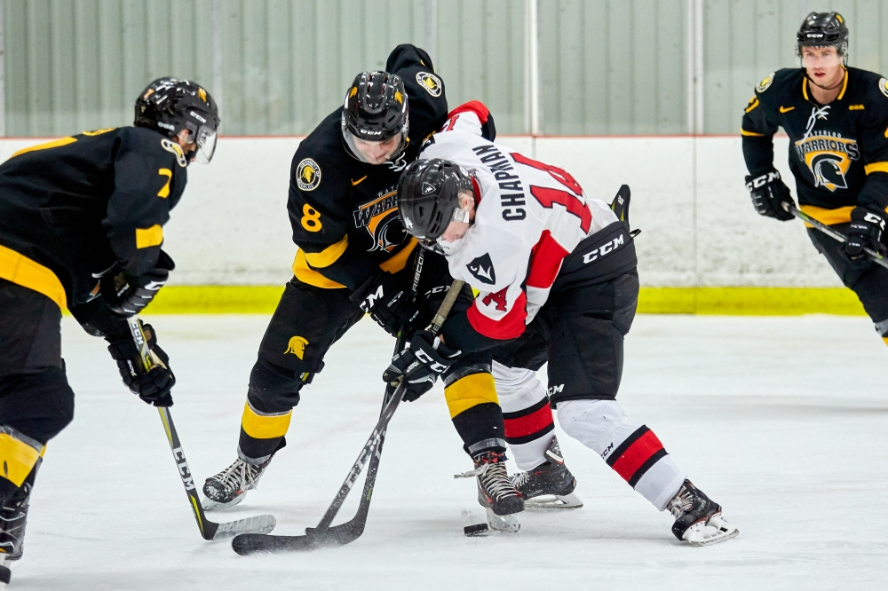 OUA Men's Hockey - Waterloo Warriors vs  Carleton Ravens