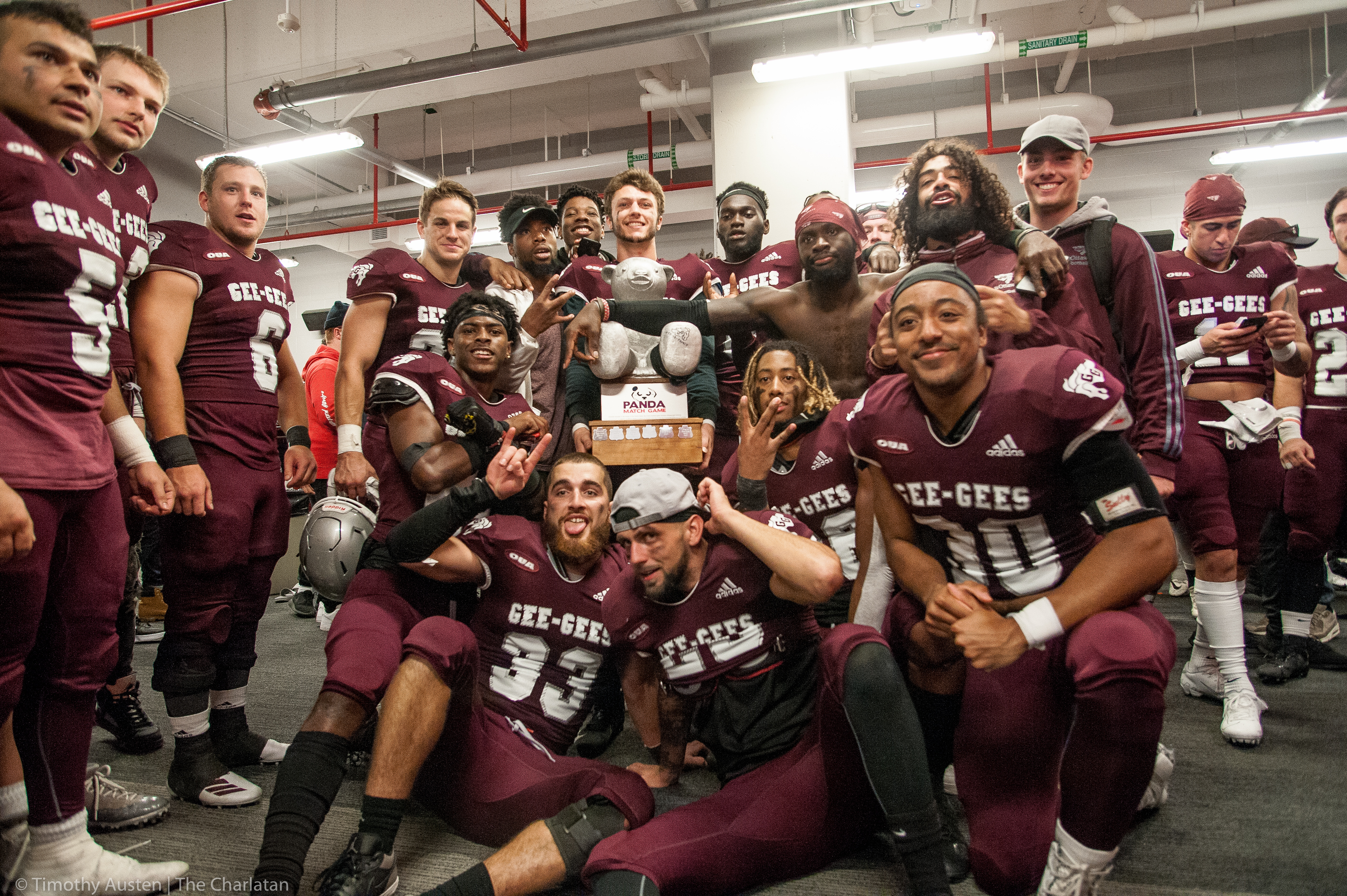 Gee-Gees Stake Hold on Pedro in Second Consecutive Panda Win – Kassia's  Sports Blog