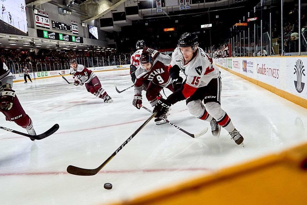OUA Men's Hockey - Ottawa Gee-Gees vs  Carleton Ravens